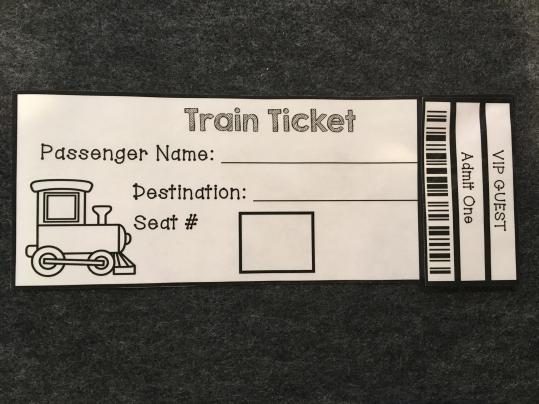 Train Station Dramatic Play - 7