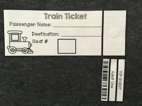 Train Station Dramatic Play - 8